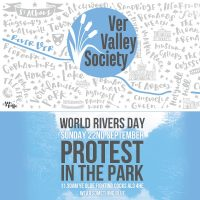 WHAT'S HAPPENING ON SUNDAY? Protest in the Park