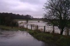 The Ver In Flood - Luton Lane February 2001 - Alan Bull