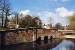 The Bridge At St. Michaels & Kingsbury Mill - Bob Aldritt
