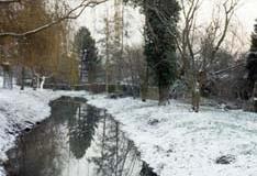 The River Red After Snow - Bob Aldritt